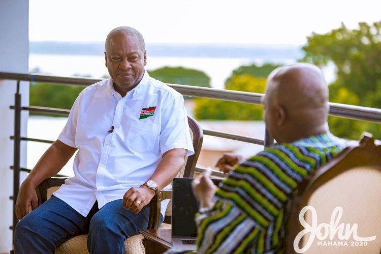 Cashew farmers Will be Prosperous Under my Government - John Mahama