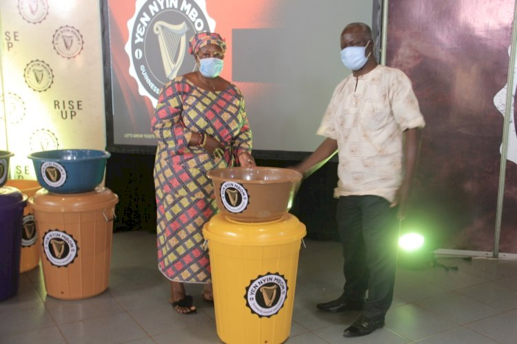 Guinness Ghana Distributes over 6,000 Veronica Buckets Nationwide to Support Bar Owners