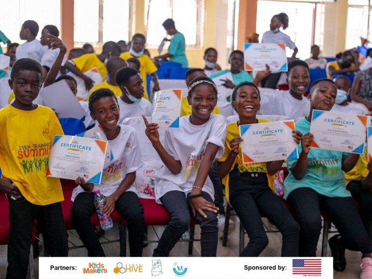 K'si: 45 Pupils Receive Lifelong STEM Skills through Kids Makers