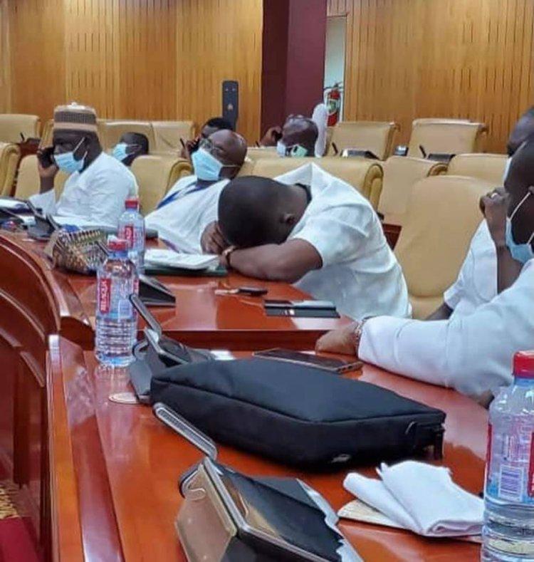 "NPP MPs Turn Parliament into a ""Bedroom"""