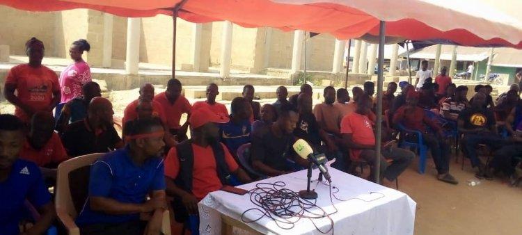 Full Text: Banda-Ahenkro Youth Bare Teeth at Banda Kabrono Chief