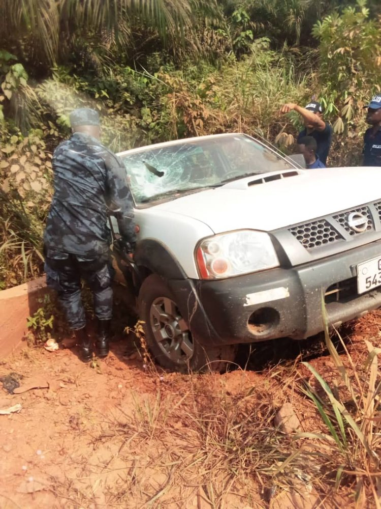 A/R: Police Officer Shot dead in Daylight Robbery Attack near Obuasi