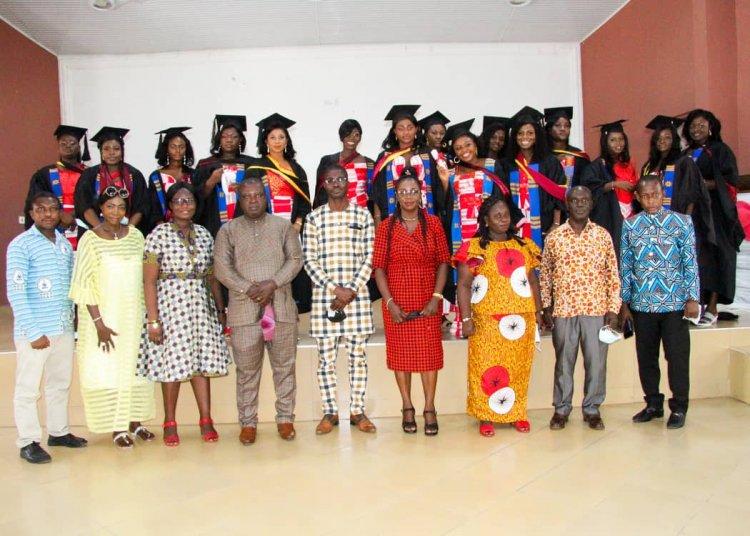 61 students graduate from 2nd Image International Skills College in Kumasi