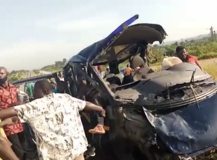 Two Feared Dead In Accra-Kumasi Highway Accident