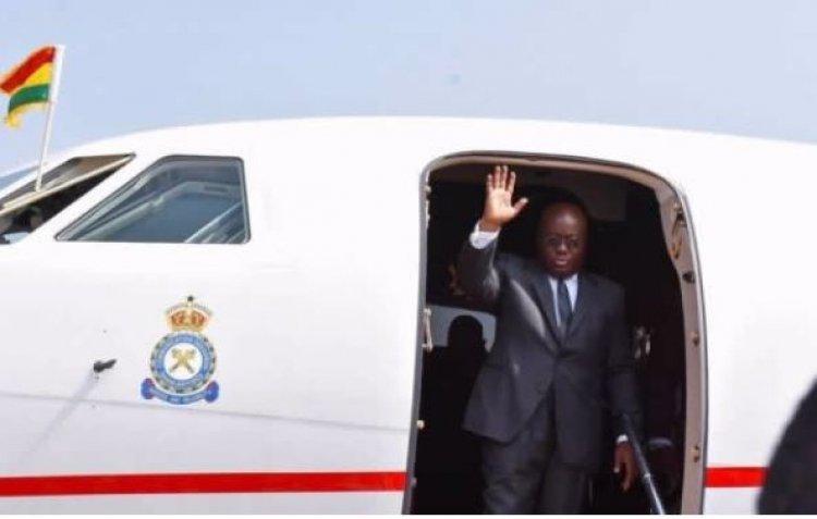 Prez Akufo-Addo Leaves For Burkina Faso