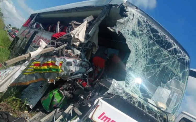 2 Dead, Others Injured As STC Bus Ran Into Faulty Truck