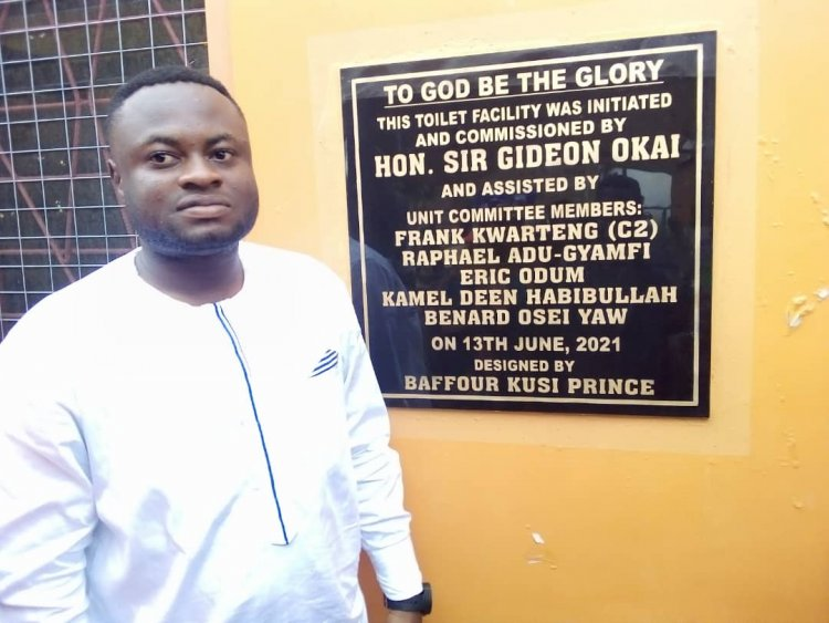 Asawasi Assembly Member Commissions 28-Seater WC Toilet Facility