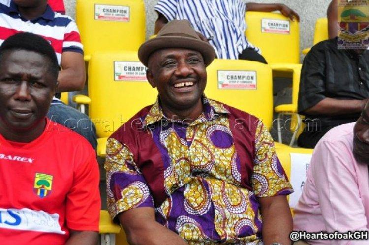 Ghana football will always move forward with Hearts of Oak - Frank Nelson