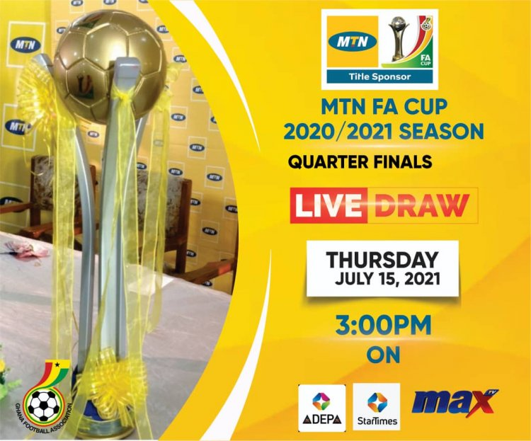 MTN FA Cup draw slated for Thursday