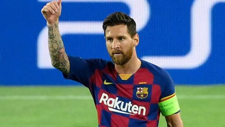 Messi to take 50% pay cut to extend stay at Barcelona