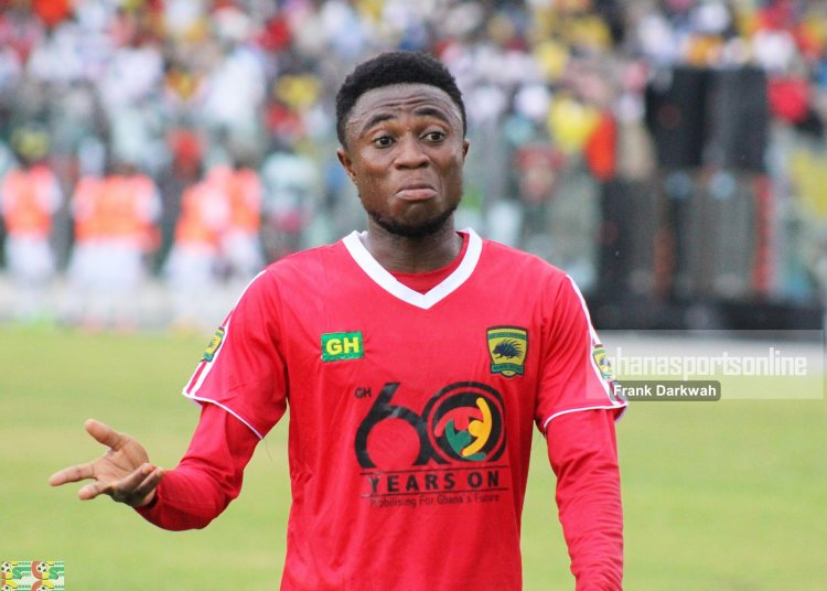 Management Of Asante Kotoko Likely To Terminate Emmanuel Gyamfi's Contract