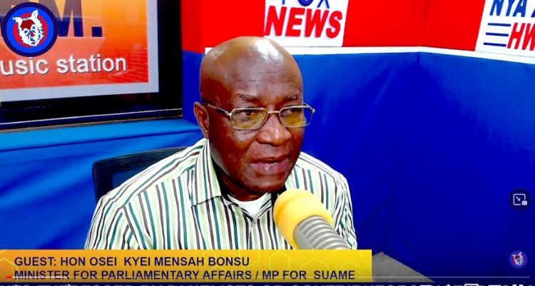 The Loss Of Some Experienced Hands In Parliament Is Affecting Government Business - Osei Kyei Mensah Bonsu