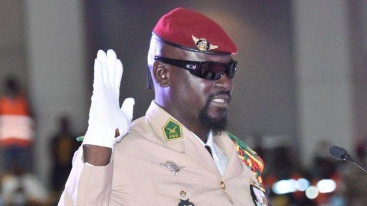 Guinea Coup Leader Sworn In As President