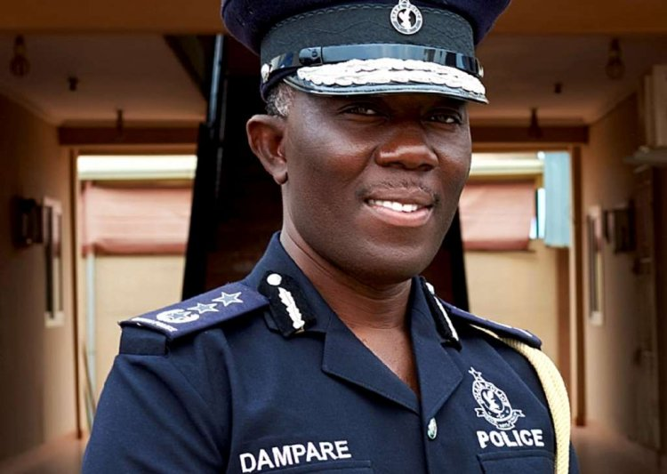 Akufo Dampare To Be Sworn In Today As Substantive IGP