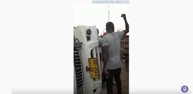 6 Injured In An Accident On Abrepo Junction-Asofua Road