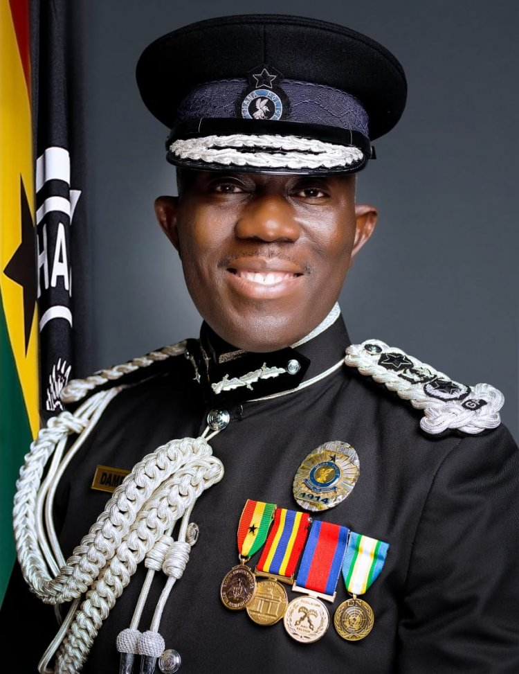 """""""Ghana Police Service Should Be Made A Model For Africa And Beyond"""" – IGP Dampare Tells Officers"""
